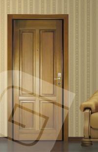 """<p class=""""defTitle""""> Описание </p> <p> Панели из массива сосны, толщиной 20 мм.<br /> <br /> Декоративные панели с атмосферостойким покрытием используются для установки в стальную дверь со стороны улицы. Панель обрабатывается с 2-х сторон защитным составом, для защиты от УФ-лучей, осадков и перепада температур.<br /> <br /> К данной декоративной панели возможно заказать <a href=""""../dobory-nalichniki.html"""">наличники и доборный брус</a>.</p>"""