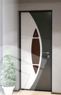 """<p class=""""defTitle""""> Описание </p> <p> Панели многоцветные фрезерованные ламинированные, на основе MDF 12 мм.<br /> <br /> Рекомендуемое сочетание цветов: металлик и черный металлик. Рекомендуемый цвет дверной коробки - черный.</p>"""