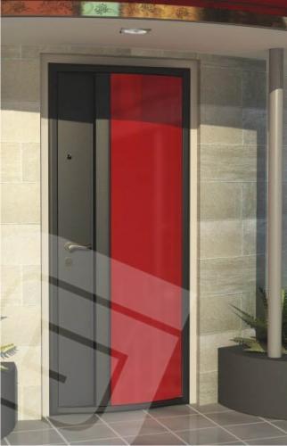 """<p class=""""defTitle""""> Описание </p> <p> Отделка с объемным элементом сферической формы.<br /> Объемный элемент наружной декоративной отделки из металла может быть покрашен в любой цвет из ассортимента порошковых красок, либо выполнен с нанесением аэродекора.</p>"""