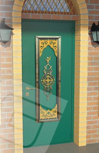 зеленая марка металлические двери